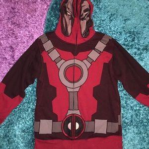 Marvel Wade Wilson - Deadpool hoodie with mask